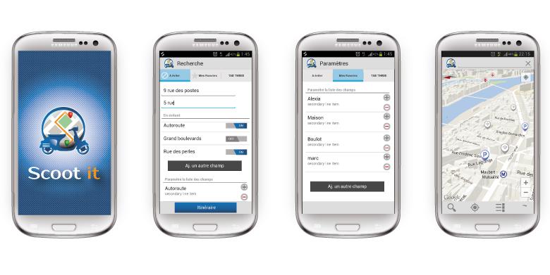 App android et ios