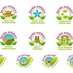 Projet Logo jardin solidaire et partages