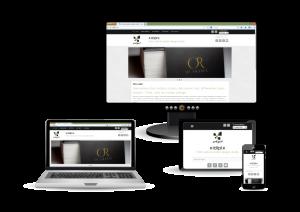 Nouveau site web en responsive design